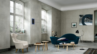 Eva Lounge Chair + Bonaparte Sofa